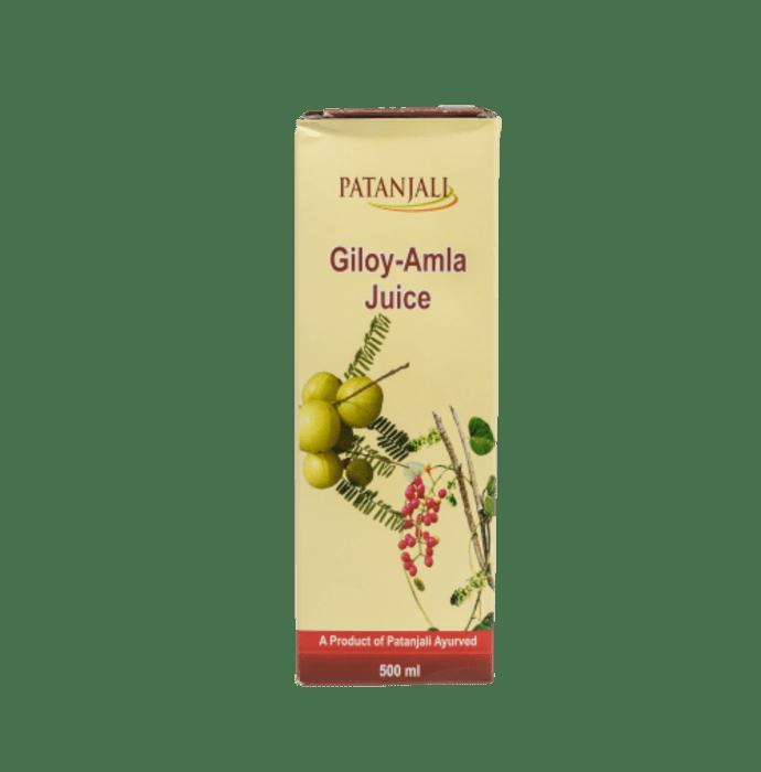 Patanjali Ayurveda Giloy-Amala Juice Pack of 4