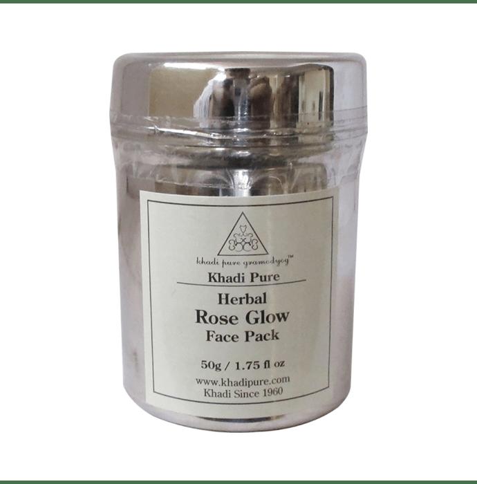 Khadi Pure Herbal Rose Glow Face Pack