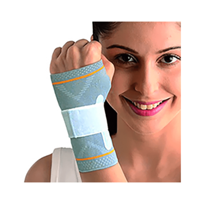 Vissco 5602 Platinum Wrist Splint Binder with Silicone Pressure Pad S Left
