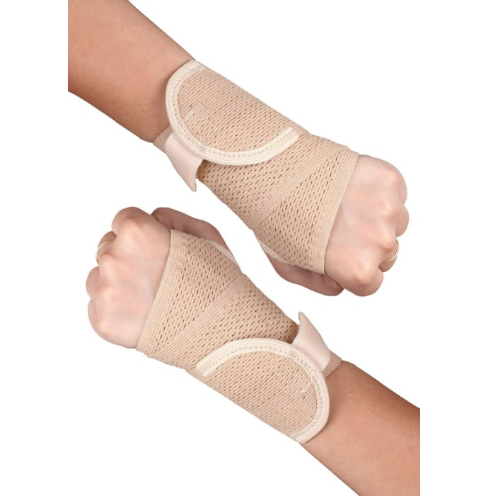 Healthgenie Wrist Brace with Thumb Support Beige