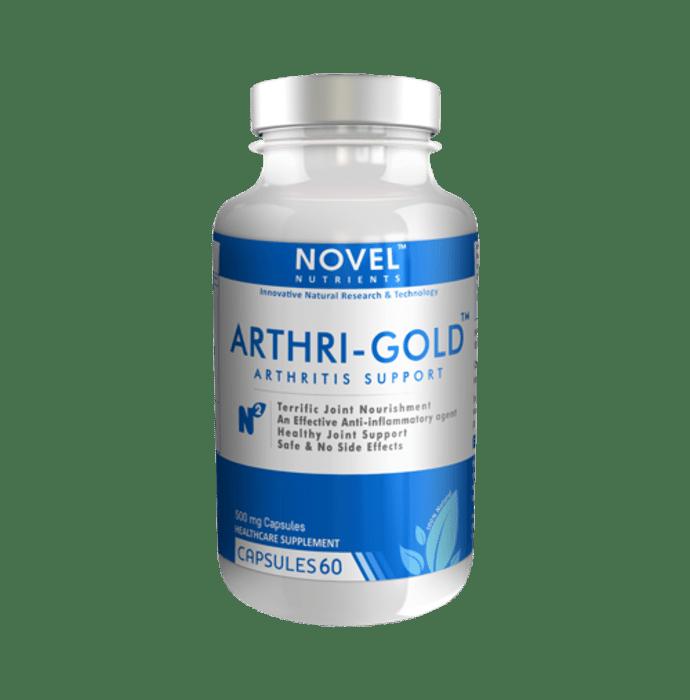 Novel Nutrients Arthri-Gold 500mg Capsule