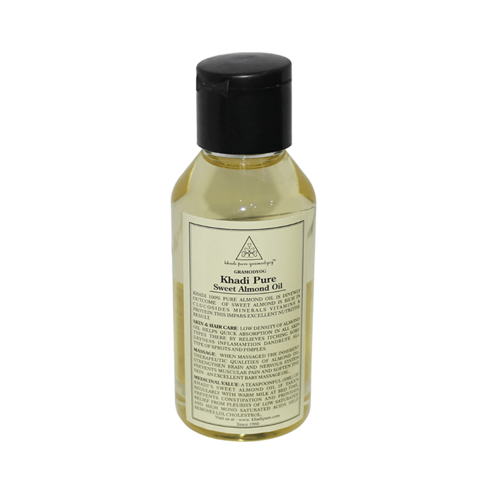 Khadi Pure Herbal Sweet Almond Oil