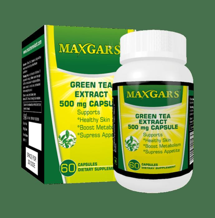 Maxgars Green Tea Extract Capsule