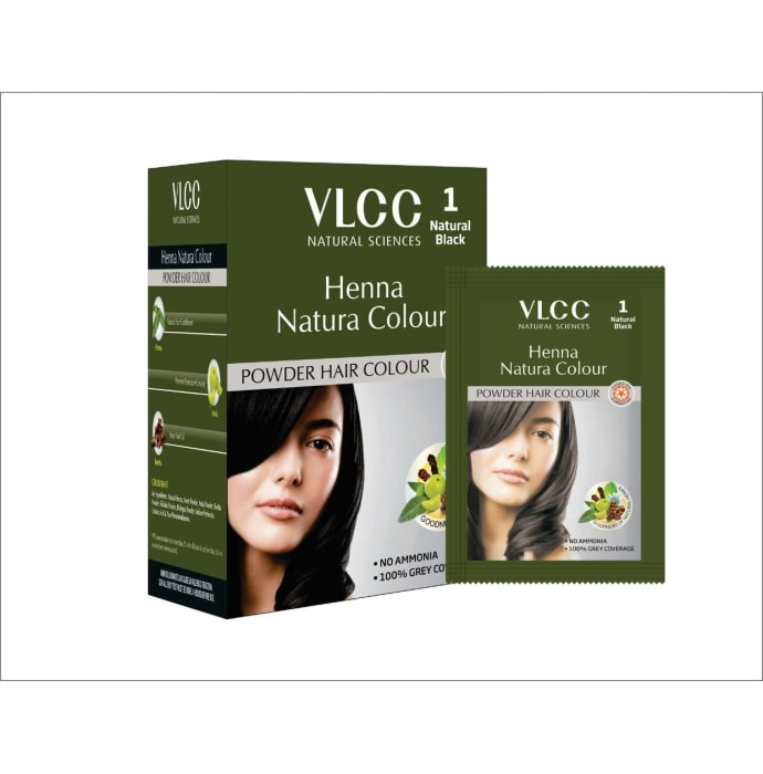 VLCC Natural Sciences Henna Natura Colour Natural Black