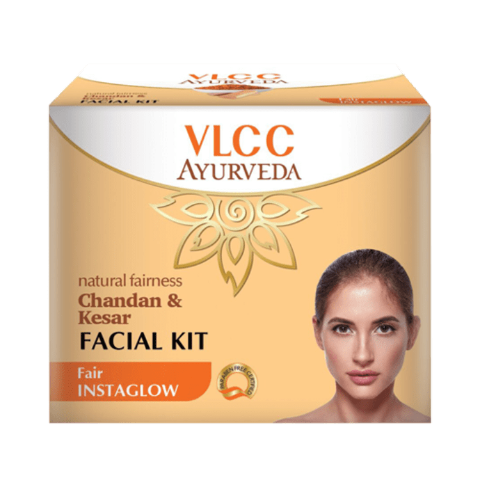 VLCC Ayurveda Natural Fairness Chandan & Kesar Facial Kit