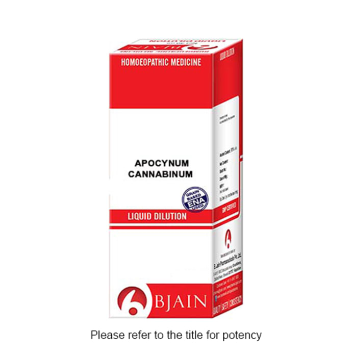 Bjain Apocynum Cannabinum Dilution 12 CH