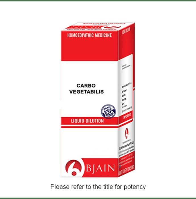Bjain Carbo Vegetabilis Dilution 12 CH
