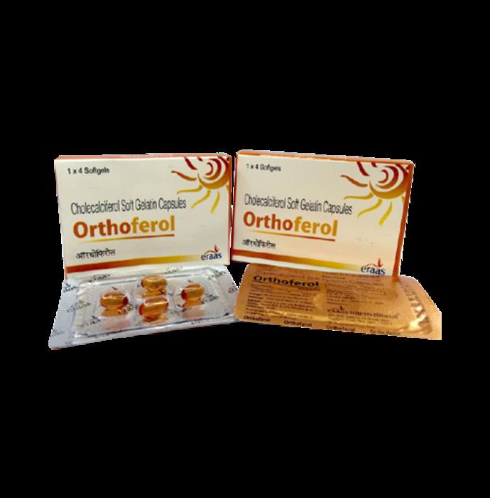 Orthoferol Soft Gelatin Capsule