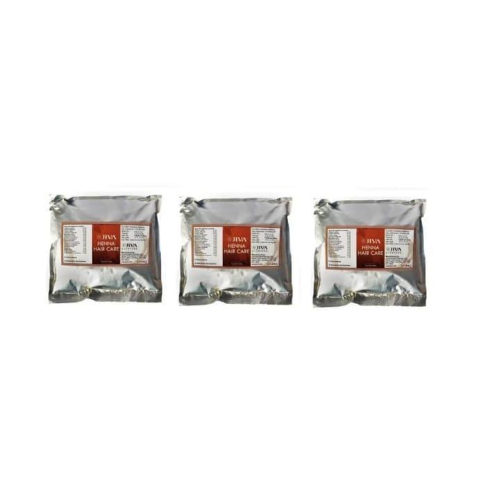 Jiva Henna Hair Care Pack of 3