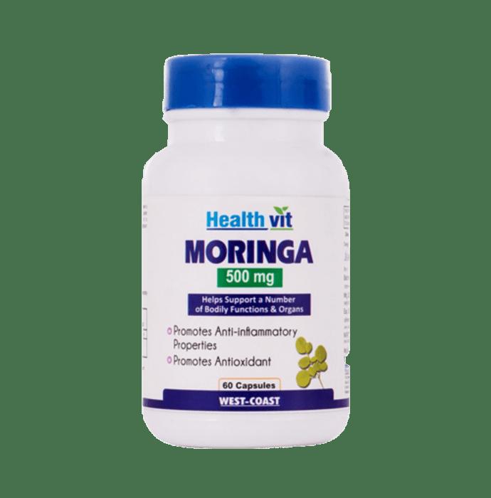 HealthVit Moringa Essential Nutrition 500mg Capsule