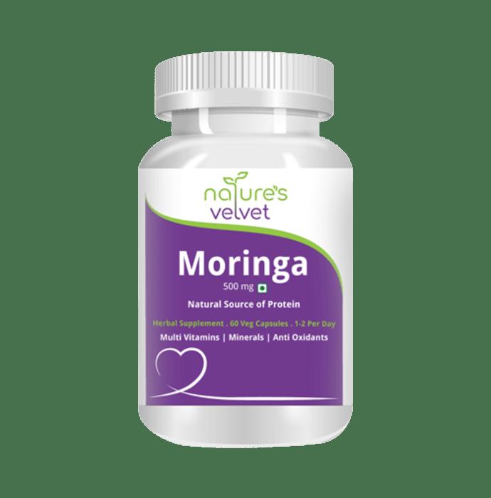 Natures Velvet Lifecare Moringa Leaf Extract 500mg Capsule