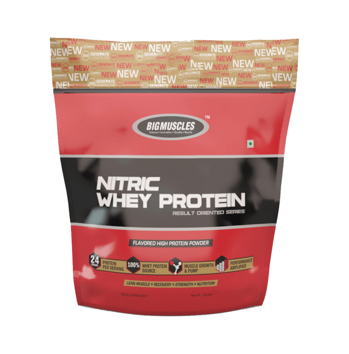 Bigmuscles Nitric Whey Milk Chocolate