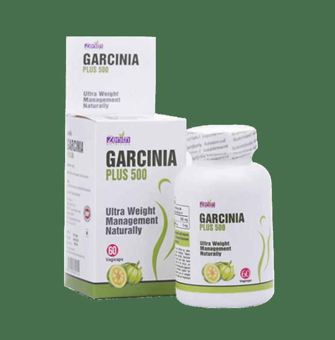 Zenith Nutrition  Garcinia Plus 500mg  Capsule
