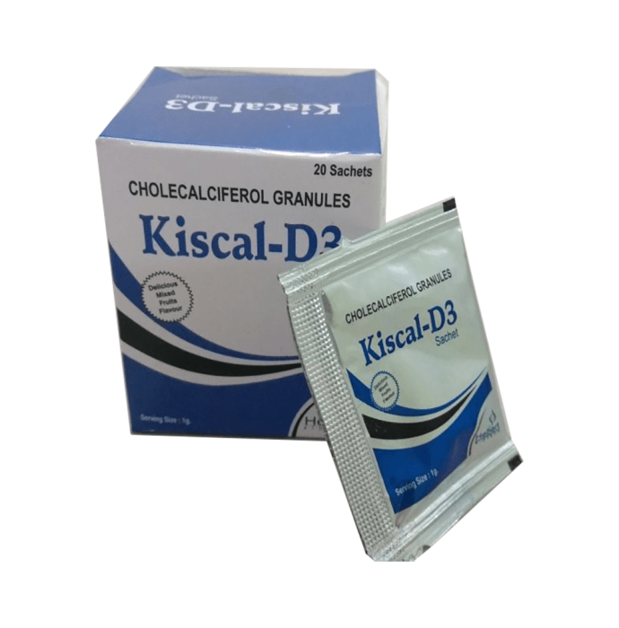 Kiscal -D3 Granules Mixed fruit