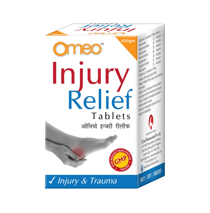 Bjain Omeo Injury Relief Tablet