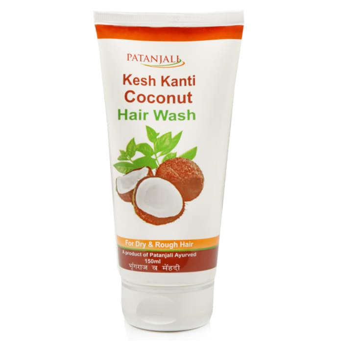 Patanjali Ayurveda Coconut  Hair Wash Pack of 4