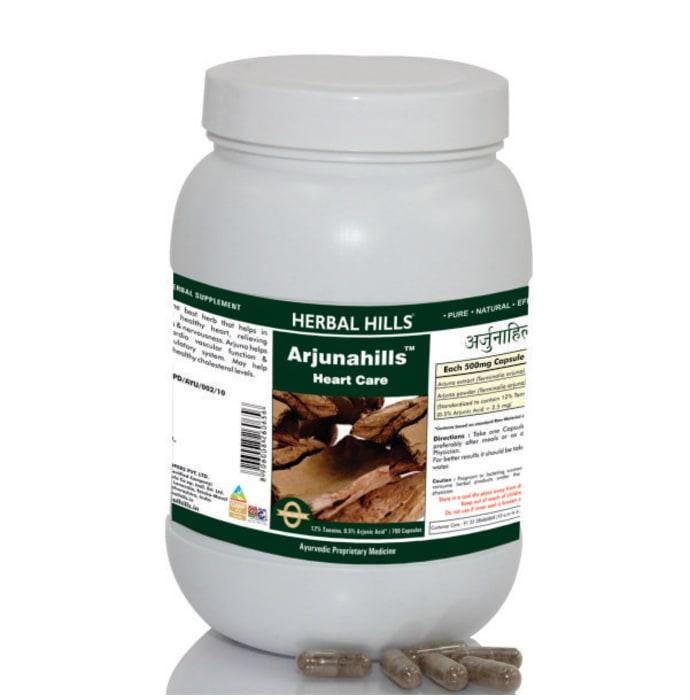 Herbal Hills Value Pack of Arjunahills Capsule