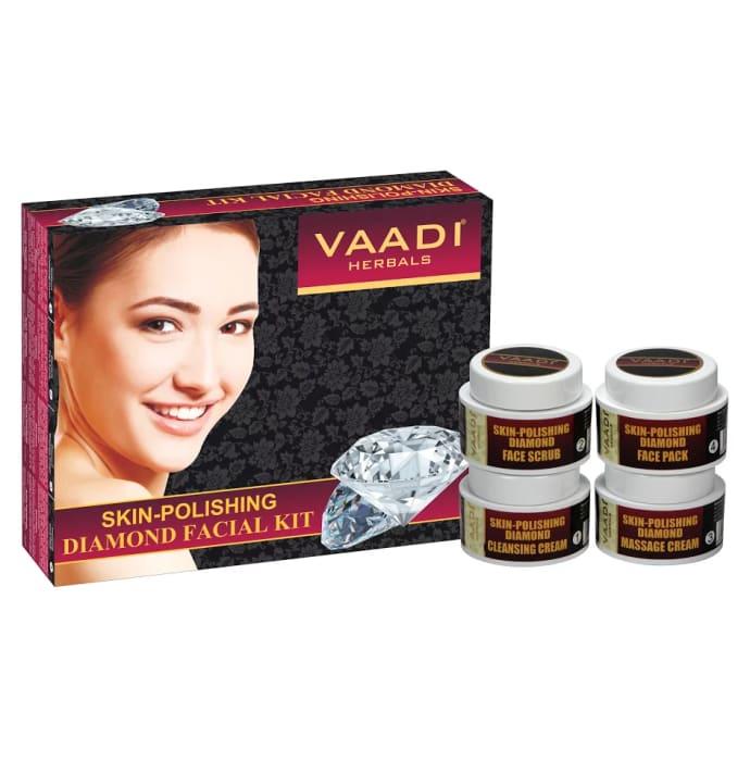 Vaadi Herbals Skin-Polishing Diamond Facial Kit 70gm