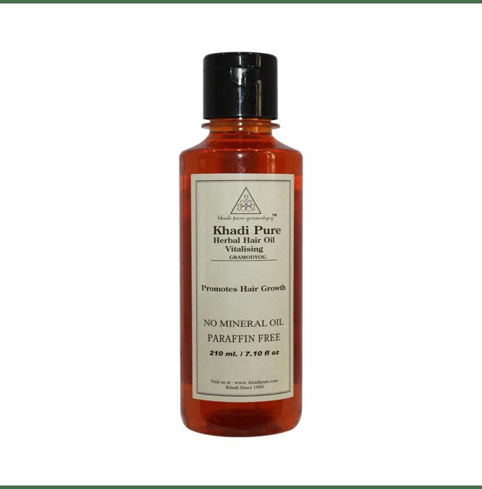 Khadi Pure Herbal Vitalising Hair Oil