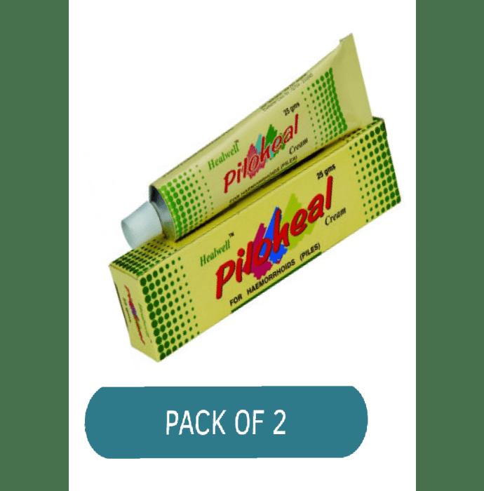 Healwell Piloheal Cream Pack of 2