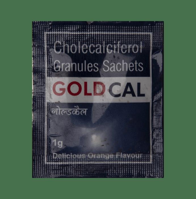 Goldcal Sachet Orange