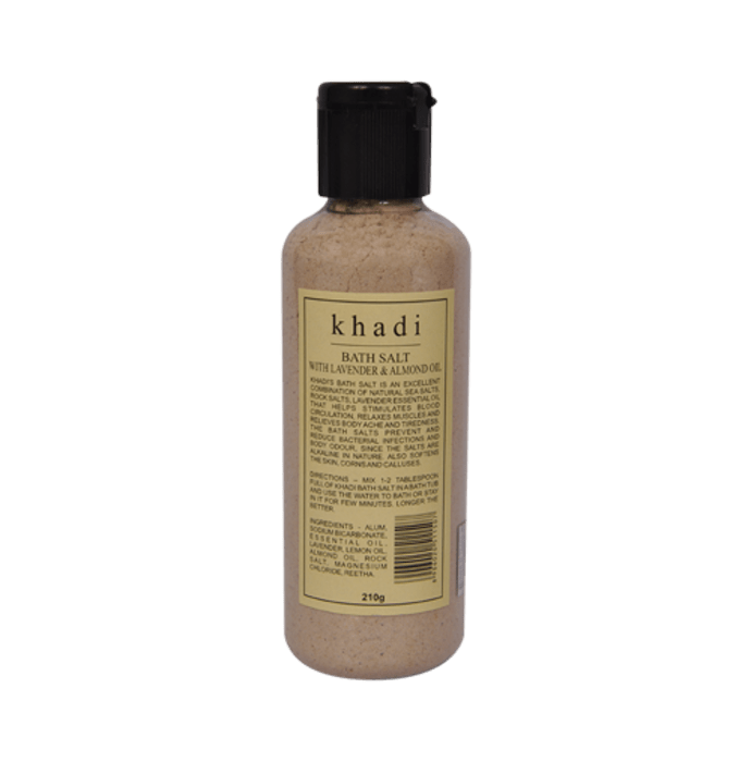 Khadi Naturals Bath Salt With Lavender & Almond Oil