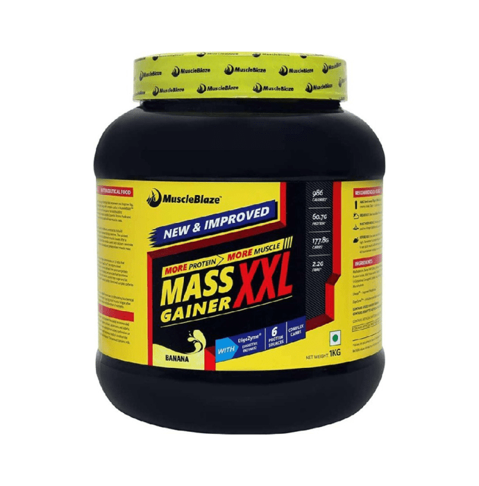 MuscleBlaze Mass Gainer XXL Banana