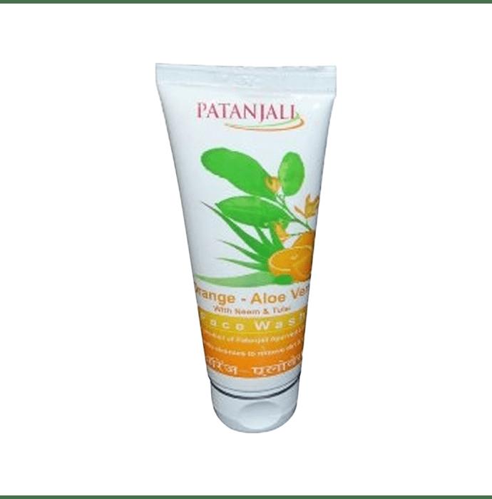 Patanjali Ayurveda Orange Aloevera Face Wash Pack of 3
