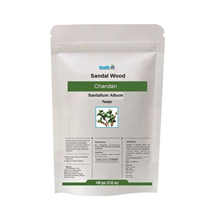 HealthVit Sandal Wood Powder