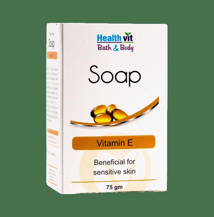 HealthVit Bath & Body Vitamin E Soap Pack of 2