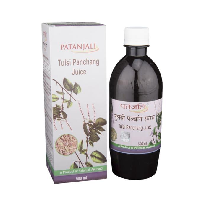 Patanjali Ayurveda Tulsi Panchang  Juice Pack of 4