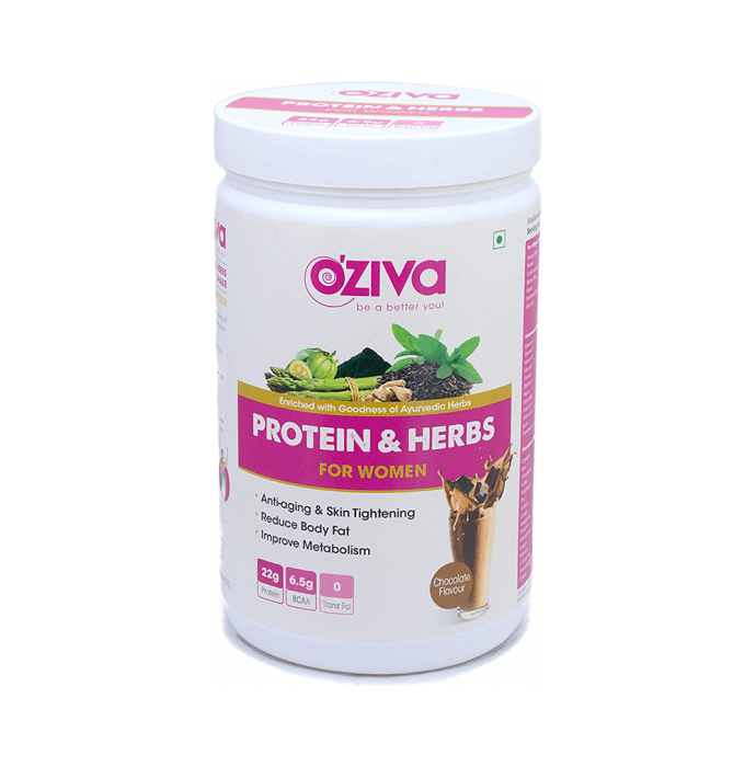 Oziva Protein & Herbs for Women Chocolate