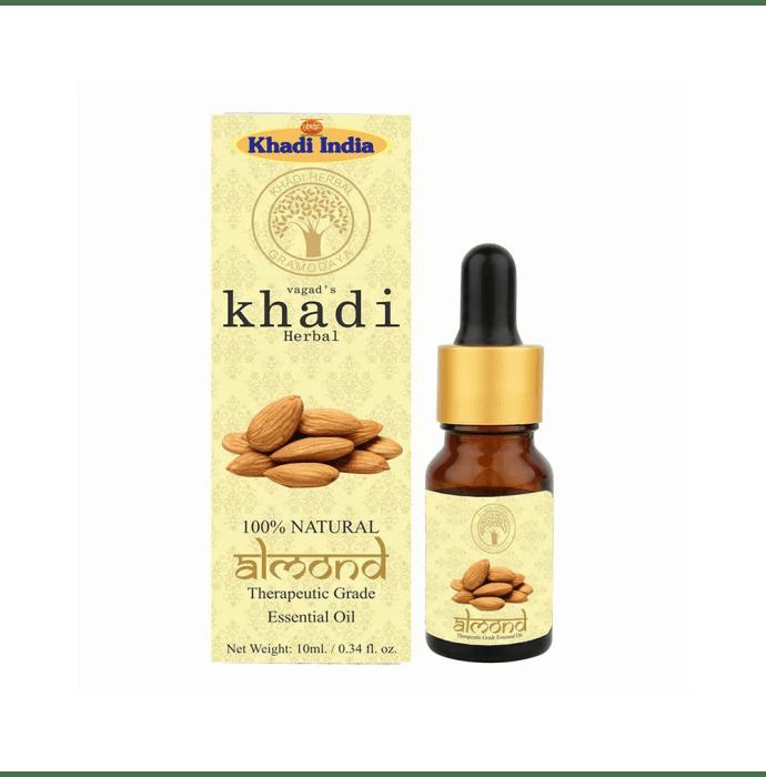 Vagad's Khadi Ayurvedic Herbal Almond Essential Oil