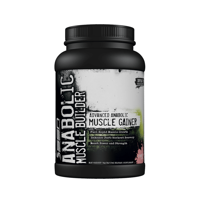 SSN Anabolic Muscle Builder Strawberry
