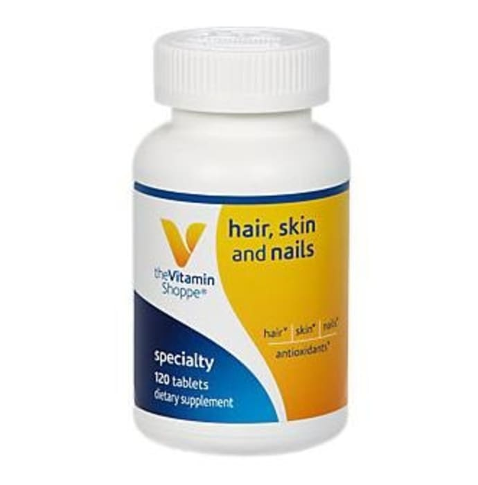 The Vitamin Shoppe Hair, Skin and Nails Tablet