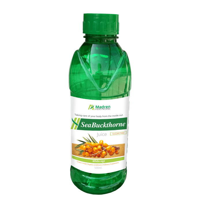 Madren Healthcare Sea Buckthorne Juice