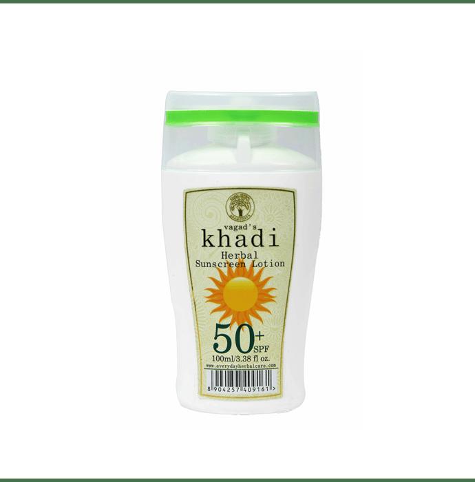 Vagad's Khadi Ayurvedic Herbal Sunscreen Lotion SPF 50