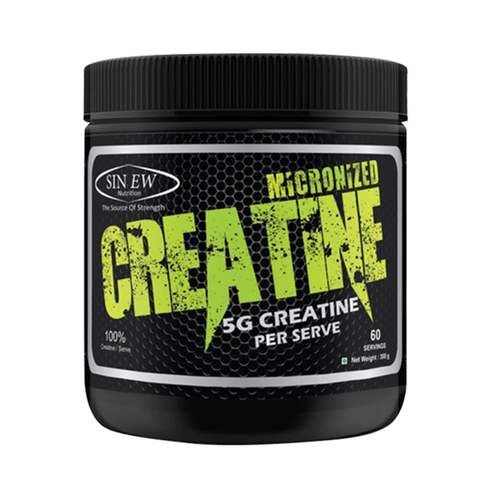 Sinew Nutrition Micronised Creatine Powder Unflavoured Pack of 2
