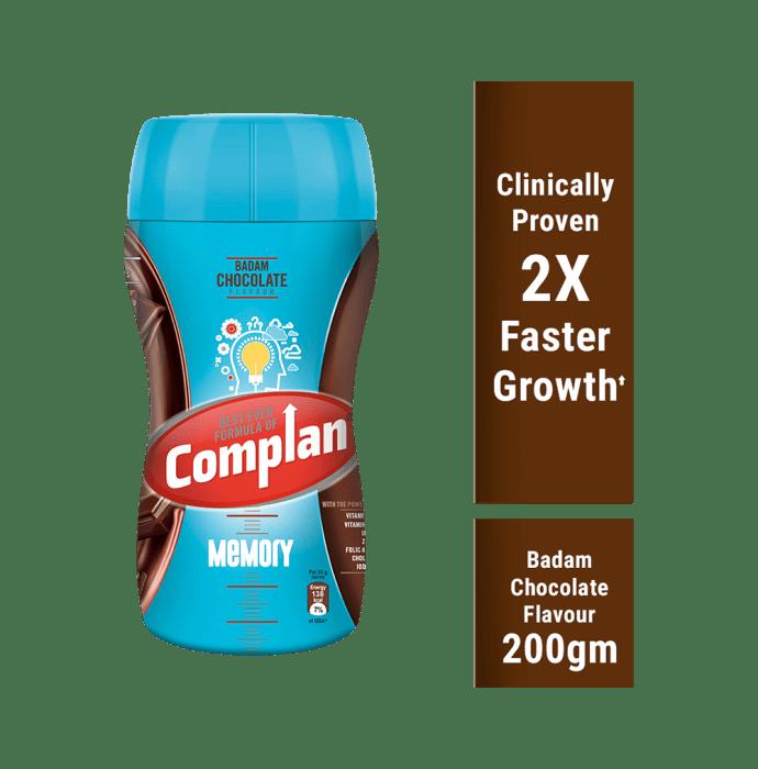 Complan Memory Powder Badam Chocolate