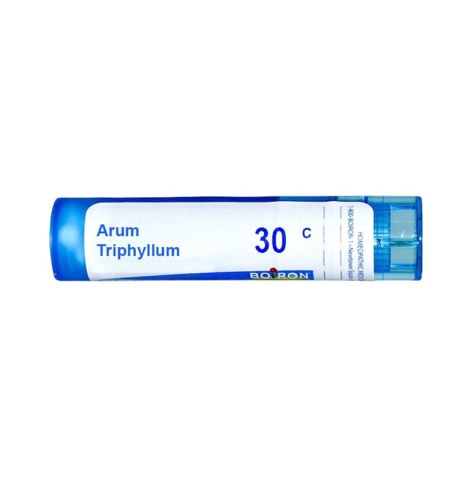 Boiron Arum Triphyllum Single Dose Approx 200 Microgranules 30 CH