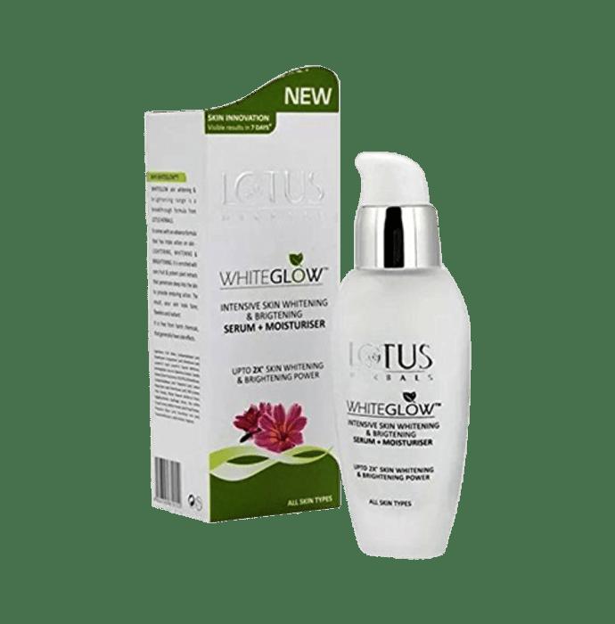 Lotus Herbals WhiteGlow Intensive Skin Whitening & Brightening Serum + Moisturiser