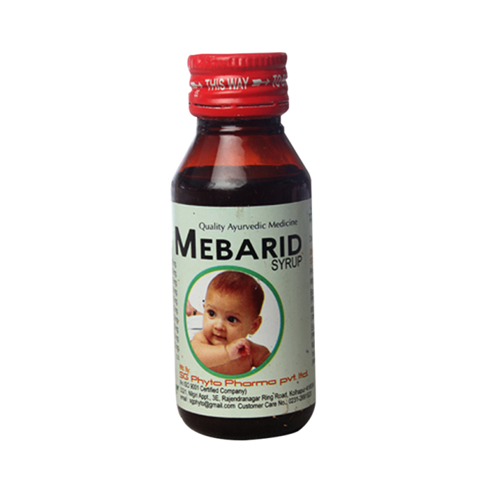 Mebarid Syrup Pack of 3