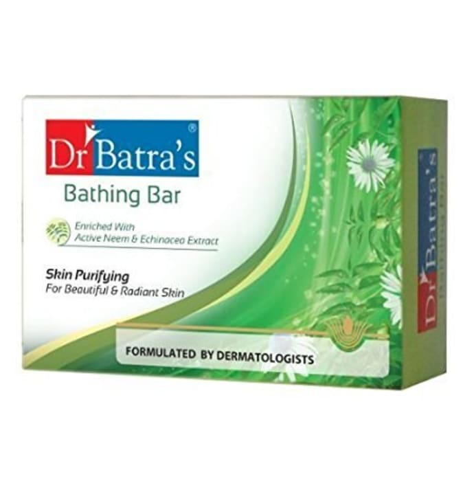 Dr Batra's Bathing Bar-Skin Purifying Pack of 2