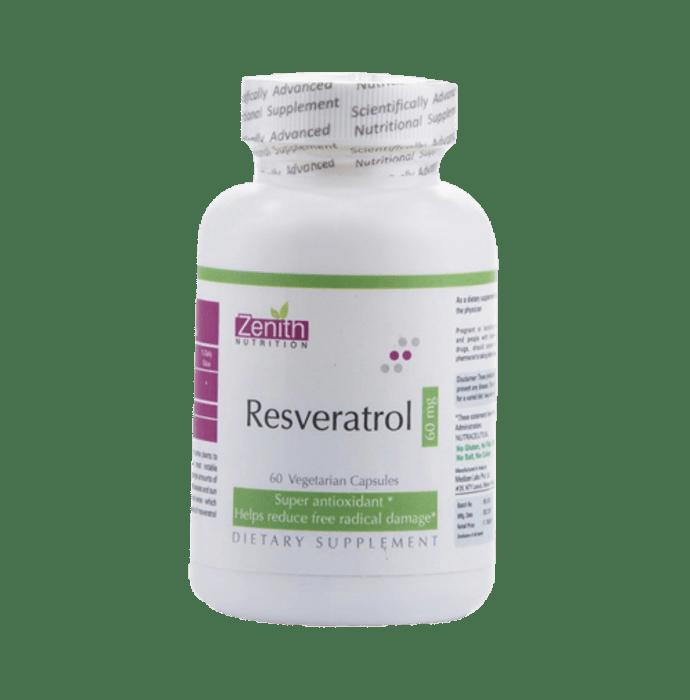Zenith Nutrition Resveratrol   60mg Capsule