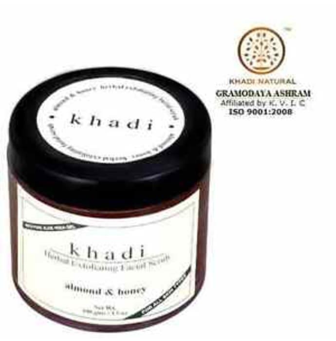Khadi Naturals Herbal Exfolalmond & Honey Facial Scrub