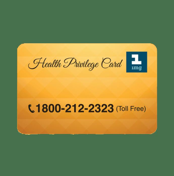 Health Privilege Card