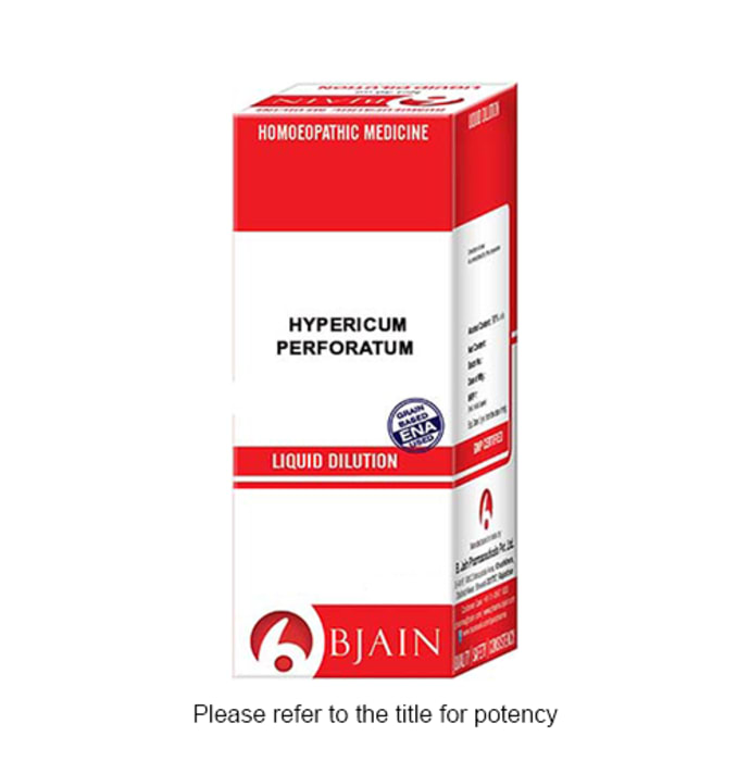Bjain Hypericum Perforatum Dilution 1000 CH