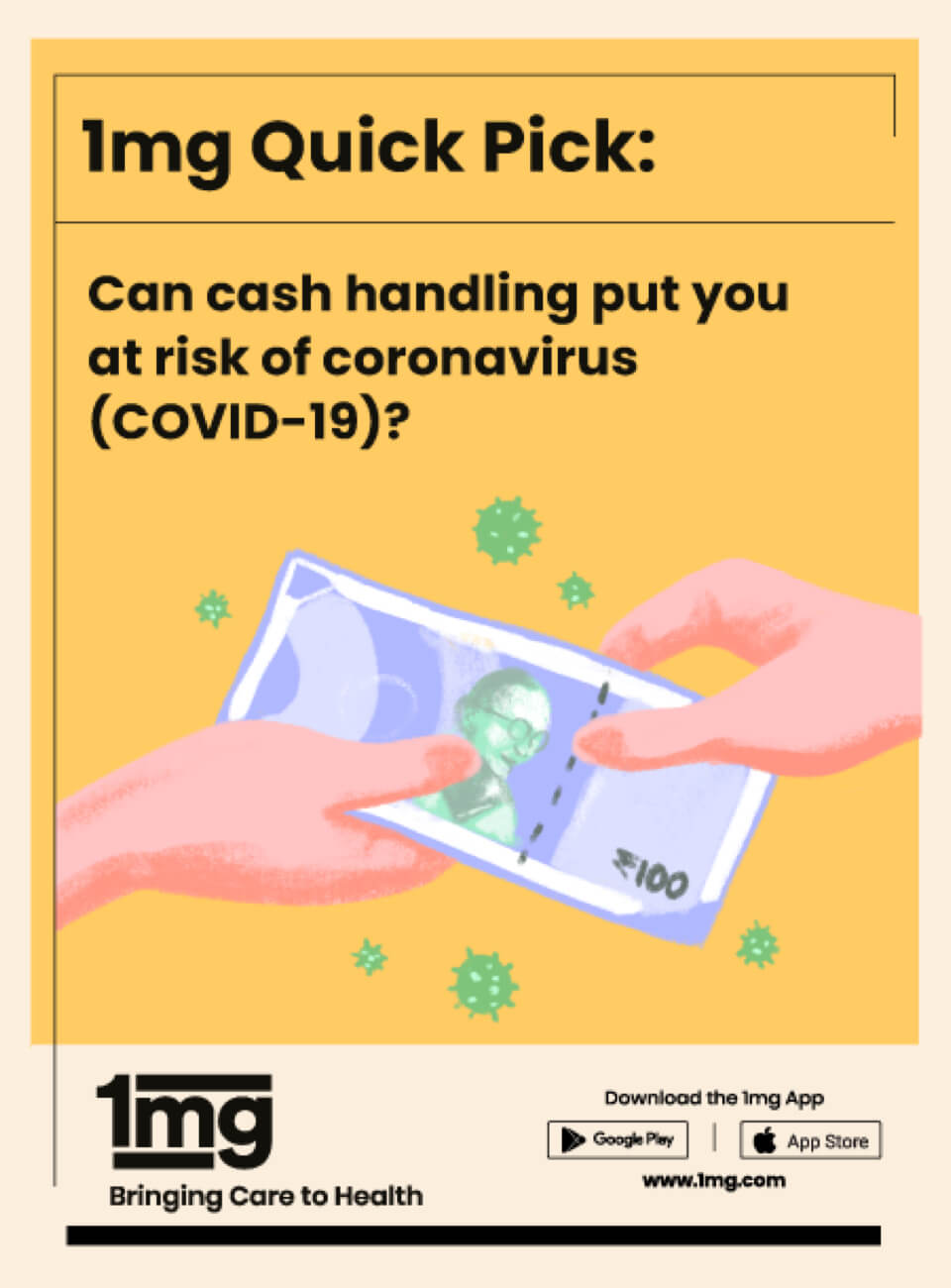 Handling Cash Amid COVID-19 A 1mg Guide