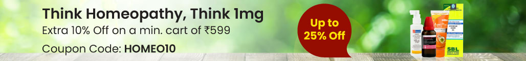 Think Homeopathy, Think 1mg