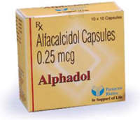 Alphadol 0.25mcg Soft Gelatin Capsule
